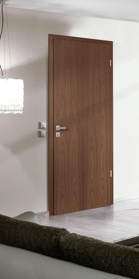 Furnérozott amerikai dió ajtó