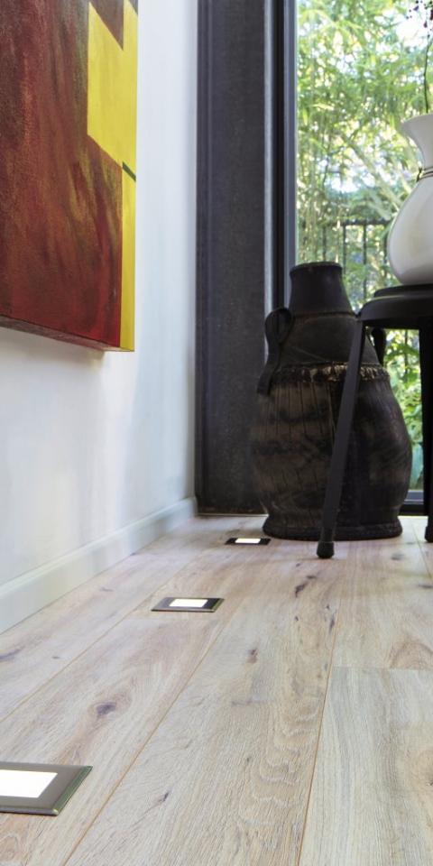 Szegélyléc laminált padlóhoz