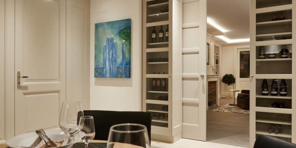 Bartels G lakkozott fehér klasszikus ajtó