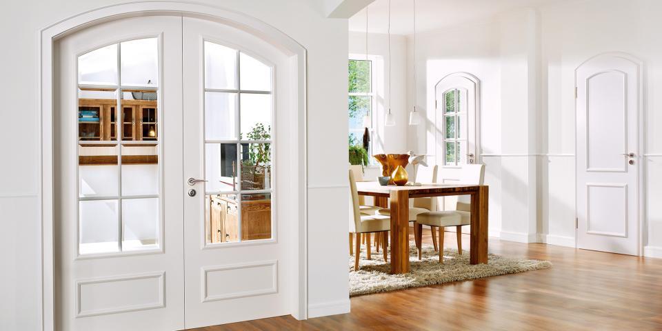 Bartels Kiel lakkozott fehér kétszárnyú ajtó